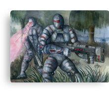Swamp Hunt Canvas Print