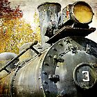 &quot;Three Spot&quot; Locomotive by AuntDot