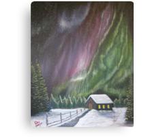 Christmas Glory (Gods Christmas lights) Canvas Print