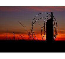 Sunset Silhouette ! Photographic Print