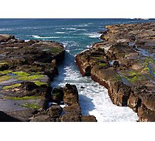 Blow Hole Photographic Print