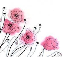Poppies by Aleksandra Kabakova