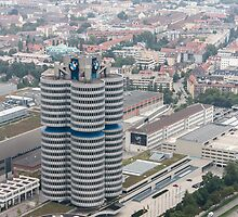 BMW Headquarters | Munich by scottsmithphoto