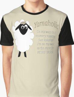 Yarnaholic lamb Graphic T-Shirt