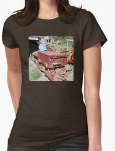 """Hacienda Quicksilver Mining Display Featuring the """"Little Trammer"""" Womens Fitted T-Shirt"""
