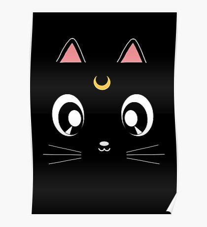 Luna Cat Poster