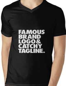 sarcastic top. Mens V-Neck T-Shirt