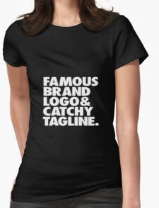 sarcastic top. Womens Fitted T-Shirt