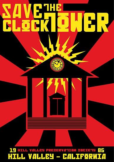 Clocktower Propaganda by Joe Dugan