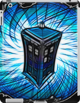 Dr Who - The Tardis  by eyevoodoo