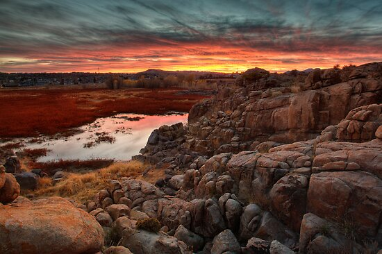 Hard Way To Sunset by Bob Larson