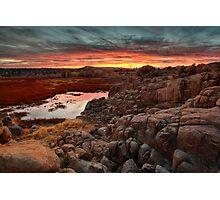 Hard Way To Sunset Photographic Print