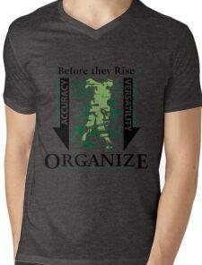 Apocalyptic Organization Mens V-Neck T-Shirt