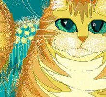 Cat And Pollen Sticker