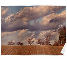 Looming Clouds Poster