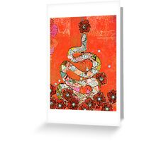 Serpent Greeting Card