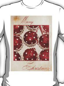 Merry Christmas (Cupcake Version) T-Shirt