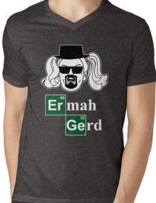 Brerkern Berd Mens V-Neck T-Shirt