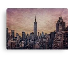 Twilight Fires Canvas Print
