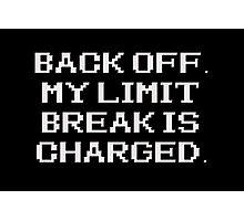 Final Fantasy - Limit Break Photographic Print