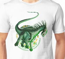 Androsexual Amargasaurus (with text)  Unisex T-Shirt