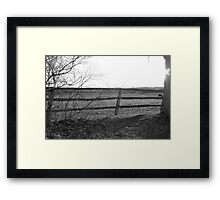 Lazy, Late Afternoon Framed Print