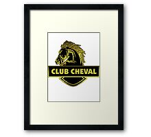 Club Cheval  Framed Print