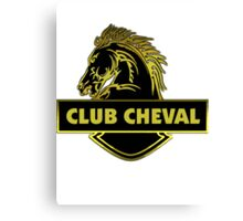 Club Cheval  Canvas Print