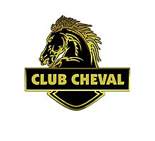 Club Cheval  Photographic Print