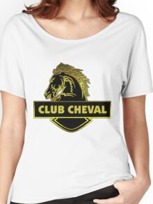 Club Cheval  Women's Relaxed Fit T-Shirt