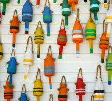 Lobster Buoys Sticker