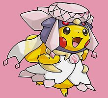 Mega Diancie Pikachu Poncho  by Eat Sleep Poke Repeat