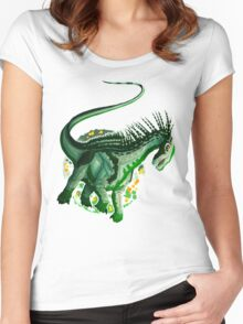 Amargasaurus (without text)  Women's Fitted Scoop T-Shirt