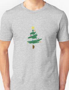 Brush Stroke Christmas Tree T-Shirt