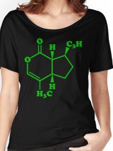 Catnip Nepetalactone Molecular Chemical Formula Women's Relaxed Fit T-Shirt