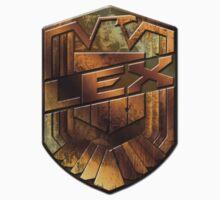 Custom Dredd Badge Shirt - Pocket - (Lex)  Kids Clothes