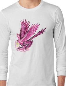 Gynesexual Graciliraptor (with text)  Long Sleeve T-Shirt