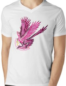 Gynesexual Graciliraptor (with text)  Mens V-Neck T-Shirt