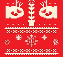 Ugly Mario Christmas Sweater by chokidoki
