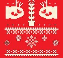 Ugly Mario Christmas Sweater by chokidoki
