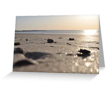 Morning Beach series 10 Greeting Card