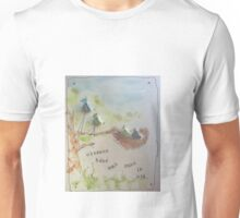 Baby Birds in the Nest Unisex T-Shirt