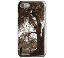 Lincoln & The Osage Orange Tree iPhone Case/Skin