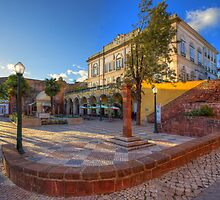 Silves Town Square by manateevoyager