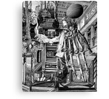 Visit From the Doctor. Canvas Print