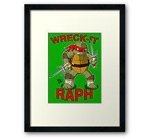 Wreck-It Raph Framed Print