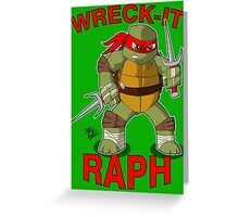Wreck-It Raph Greeting Card