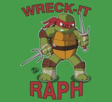 Wreck-It Raph Baby Tee