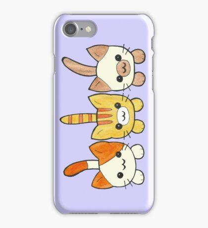 Three Cute Kittens iPhone Case/Skin