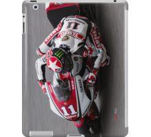 Ben Spies at laguna seca 2011 iPad Case/Skin